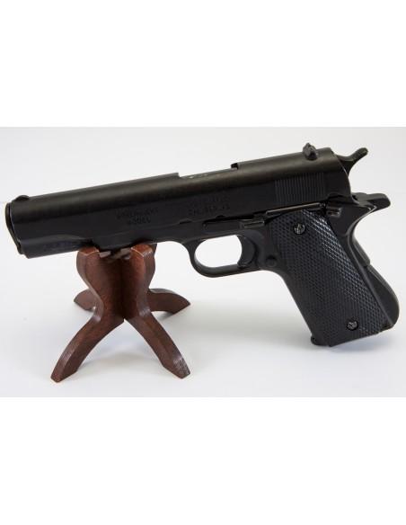 PISTOLET 45 USA 1911 NOIR  (IDEM P1227) NON DEMONTABLE