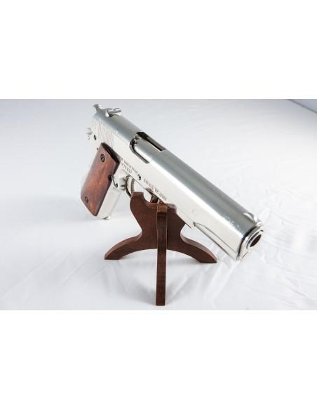 PISTOLET 45 USA 1911 CHROME (IDEM P1227NQ) DEMONTABLE